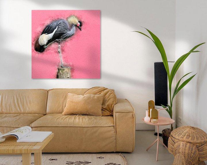 Sfeerimpressie: Kraanvogel van Art by Jeronimo