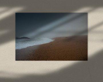 Mistige zonsopkomst 1 van Jan Peter Mulder