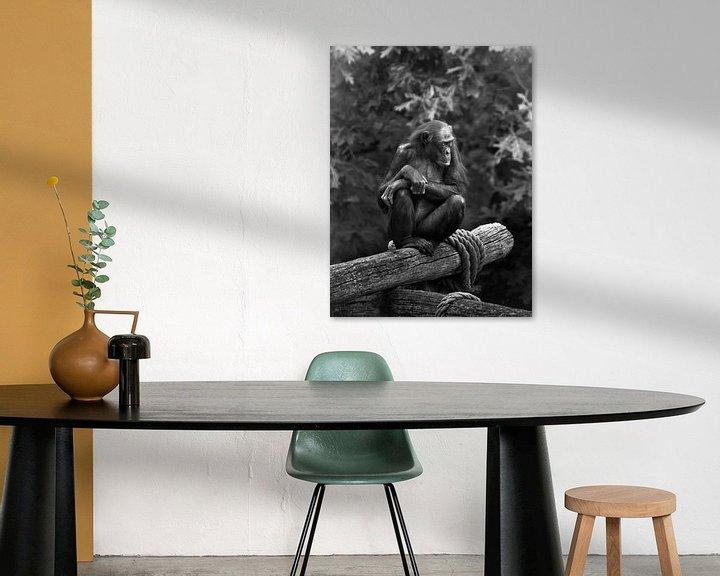 Sfeerimpressie: Ik houd de wacht.... van Mignon Goossens