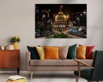 Kurhaus Scheveningen bij nacht von Retinas Fotografie