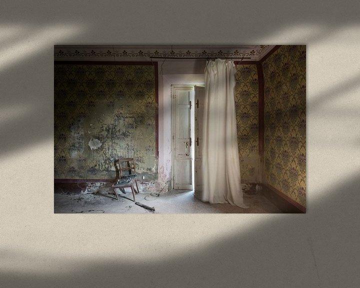 Sfeerimpressie: Spookkamer van Perry Wiertz