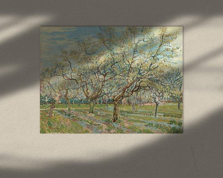 Sfeerimpressie: White Orchid - Vincent van Gogh