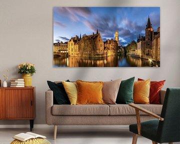 Brugge - Rozenhoedkaai von B-Pure Photography