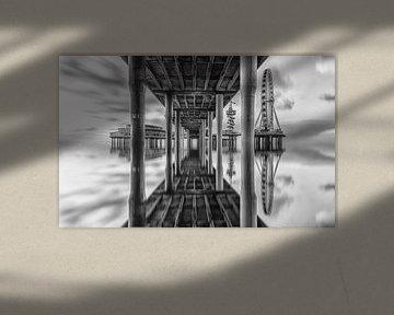 Illusie (zwart wit versie) van Robert Stienstra