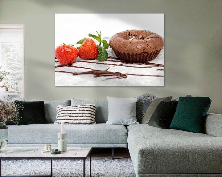 Sfeerimpressie: Chocolade soufflé van Miranda van Hulst