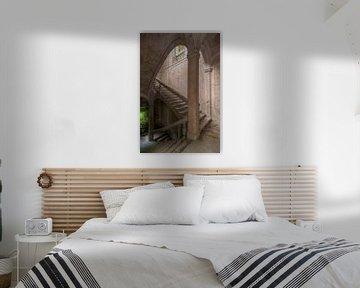 Vervallen Staircase von Frans Nijland