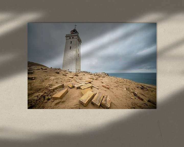 Sfeerimpressie: Rubjerg Knude Fyr Vuurtoren Denemarken van Ellis Peeters