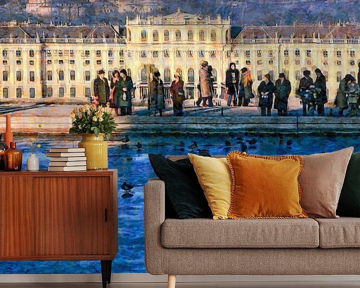 Impression: Wintertag in Schönbrunn sur Leopold Brix