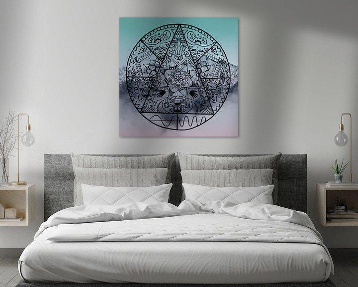 Sfeerimpressie: Mandala Mystery van Claudia Maglio