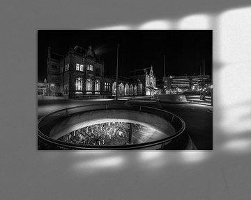 Fietsstad Groningen van Ton Drijfhamer