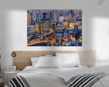 Osaka skyline sur Marcel Tuit