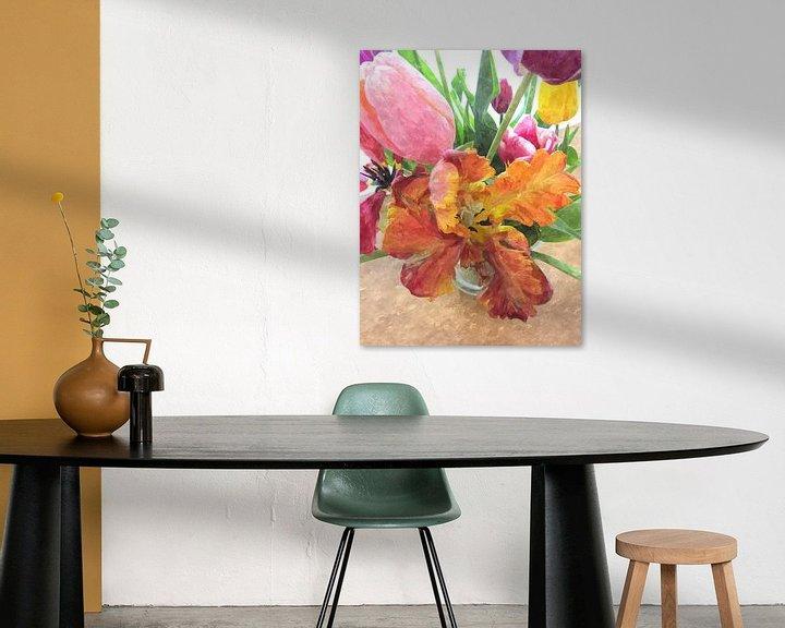 Sfeerimpressie: Tulips beauty van Nicky`s Prints