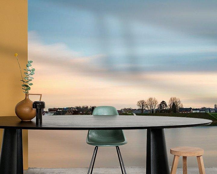 Sfeerimpressie behang: Spiegelwaal van Maerten Prins