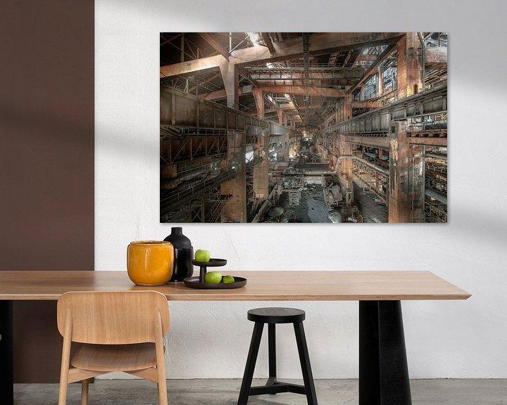 Sfeerimpressie: Staalfabriek Urbex van Olivier Photography
