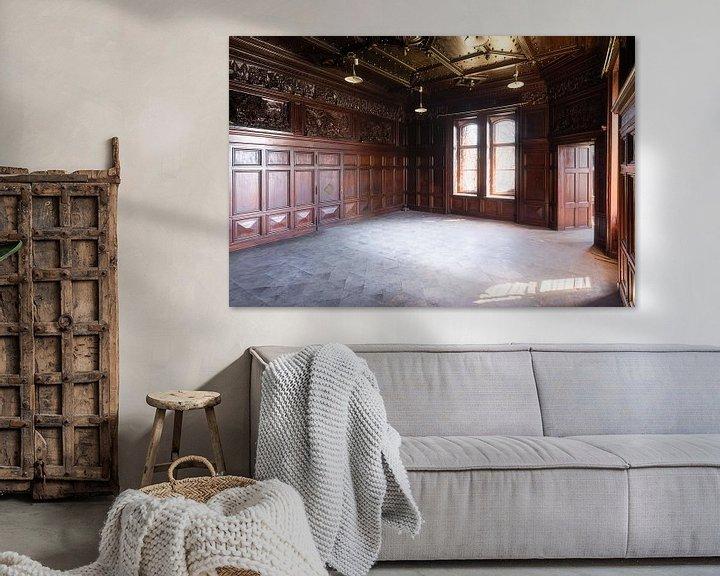 Sfeerimpressie: Kamer in Verlaten Paleis. van Roman Robroek
