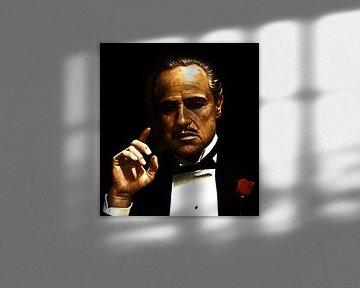 Gemaelde Der Pate - The Godfather gemaelde von Kunst Company