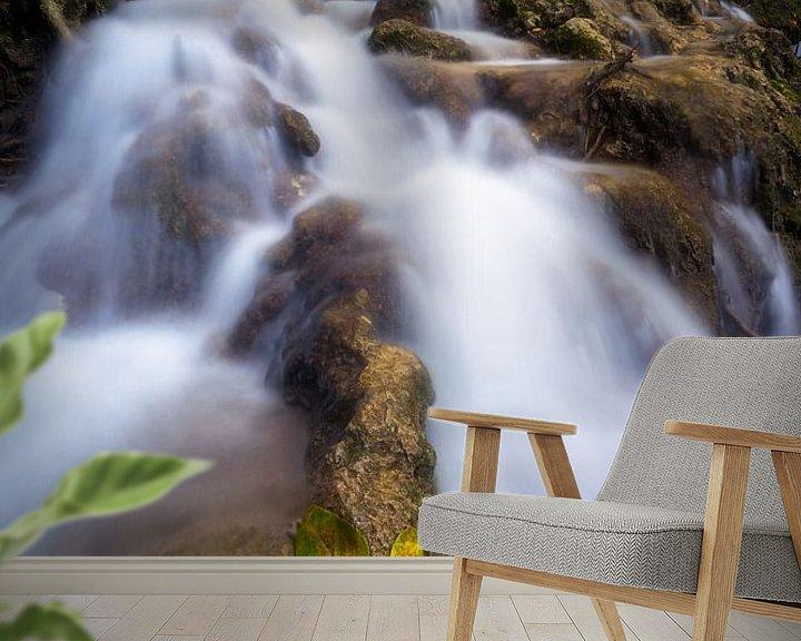 Sfeerimpressie behang: Herfst in Krka national park van Vincent Fennis