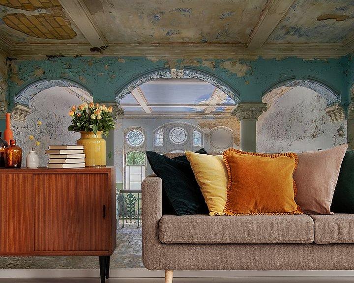 Beispiel fototapete: Curves - Beelitz Heilstätten von Frans Nijland
