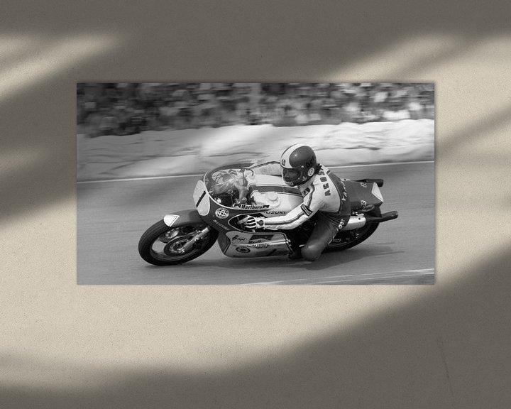 Sfeerimpressie: Giacomo Agostini 1976 TT Assen van Harry Hadders
