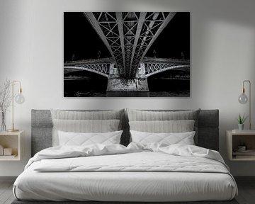 Margaret Bridge Budapest von Mario Calma