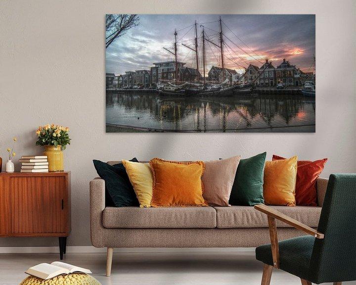 Sfeerimpressie: Zuiderhaven van Harlingen Online