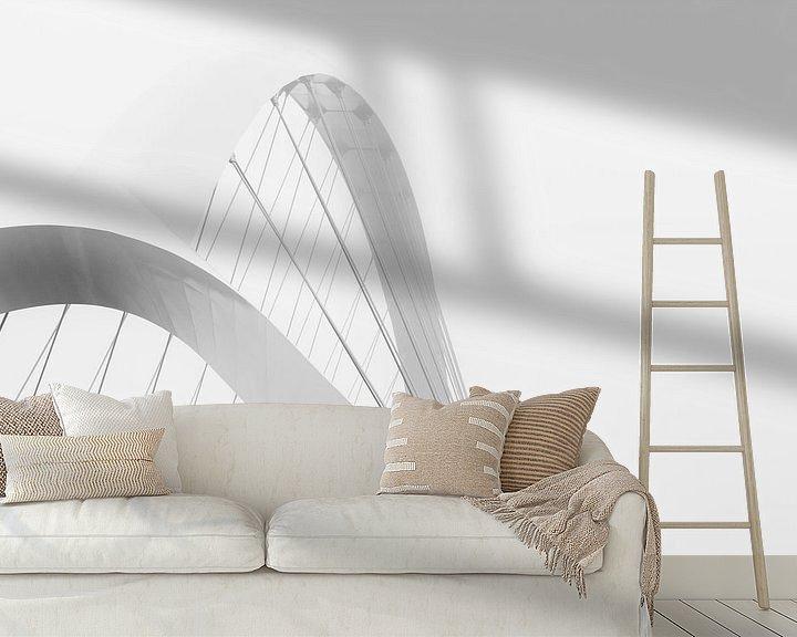 Sfeerimpressie behang: Witte Oversteek van Maerten Prins