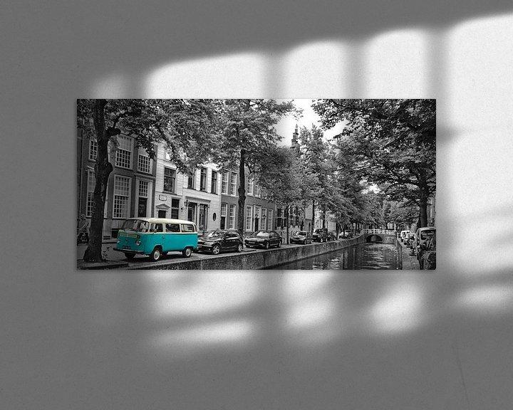 Sfeerimpressie: VW Camper van Johnny van der Leelie