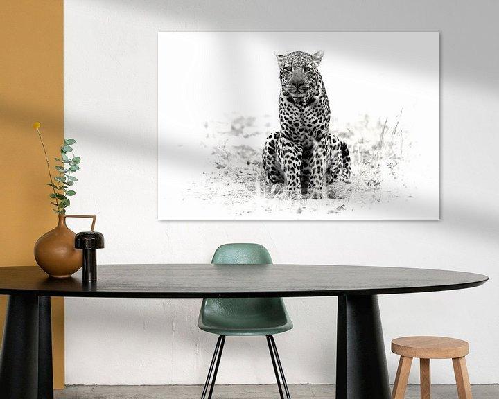 Sfeerimpressie: luipaard van Ries IJsseldijk