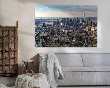 Uitzicht over Manhattan, New York City von Jasper den Boer
