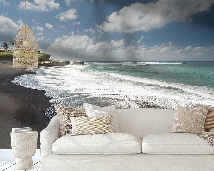 Sfeerimpressie behang: seashore paradise van Lex Scholten