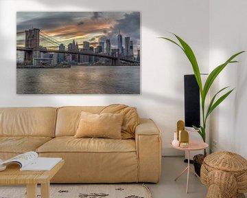 Manhattan van Rene Ladenius Digital Art
