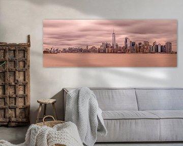 New York Skyline van Rene Ladenius Digital Art