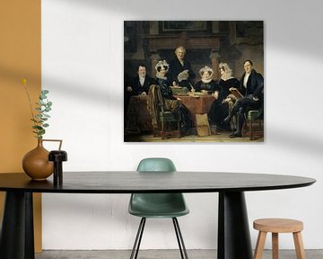 Die Regenten des Leprahauses in Amsterdam, Jan Adam Kruseman