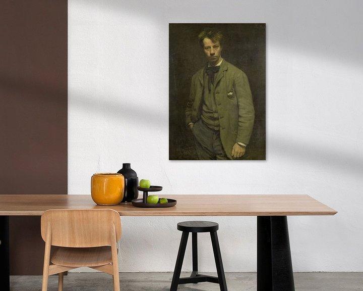 Sfeerimpressie: Portret van Albert Verwey, Jan Veth
