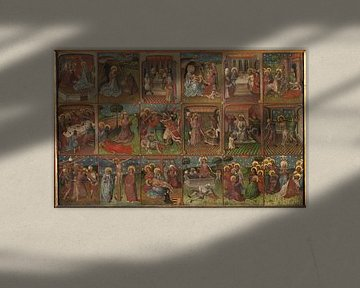 Szenen aus dem Leben Christi, Unbekannter Künstler um 1435