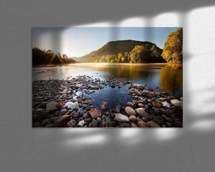 Sfeerimpressie: Zonsopkomst in de Dordogne van Halma Fotografie