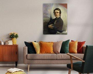 Porträt von Jacob Hobein, Jan Willem Pieneman