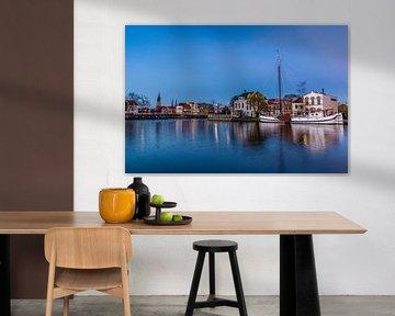 """Vermeers """"Zicht op Delft"""" van Gijs Rijsdijk"""