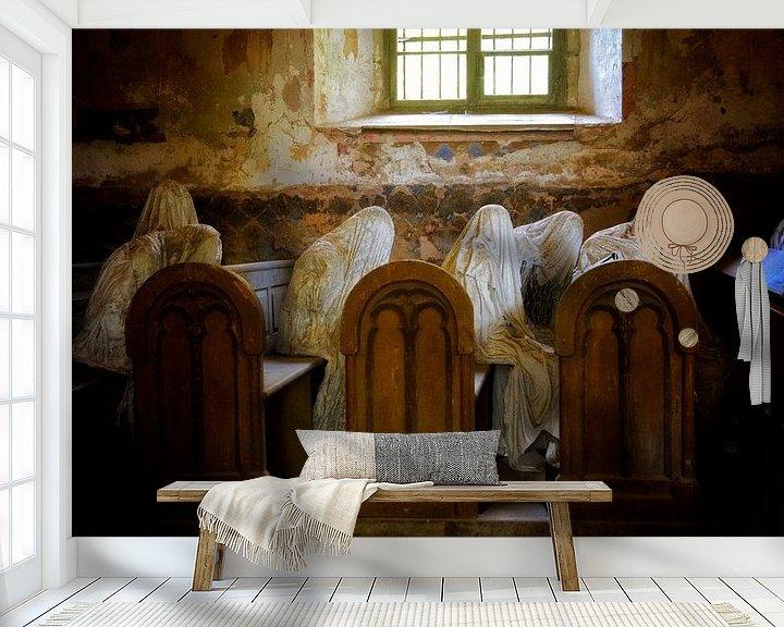 Sfeerimpressie behang: Kerk van de geesten van Claudia Moeckel