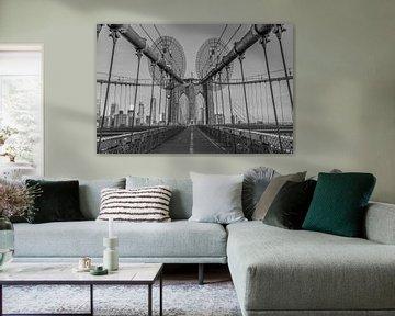 Brooklyn Bridge New York  von Rene Ladenius Digital Art