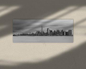 Skyline Manhattan van Rene Ladenius Digital Art
