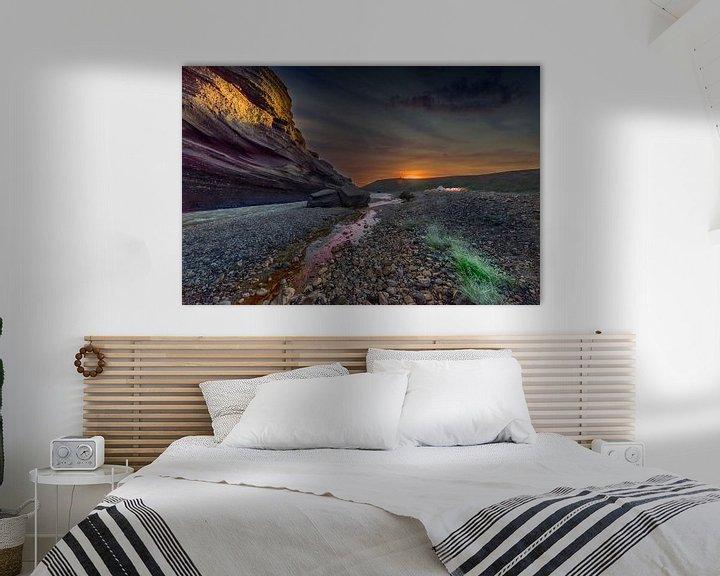 Sfeerimpressie: River sunset van Jack Soffers