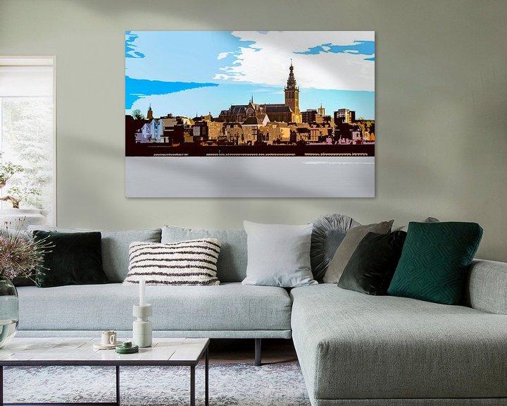 Sfeerimpressie: Stevenskerk, Nijmegen van Maerten Prins