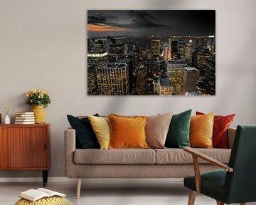 Stadtübersicht New York von Kurt Krause