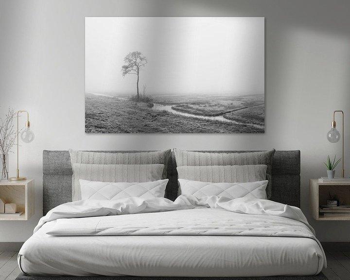 Sfeerimpressie: Eenzaam in de mist van Raoul Baart
