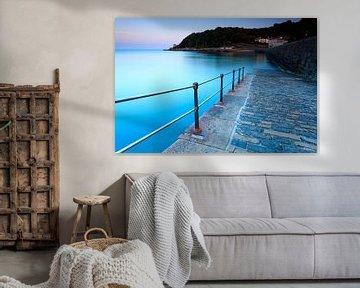 De kust van Guernsey sur Ron ter Burg