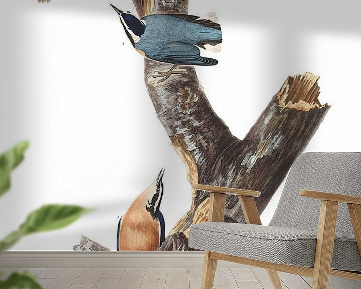 Sfeerimpressie behang: Canadese Boomklever