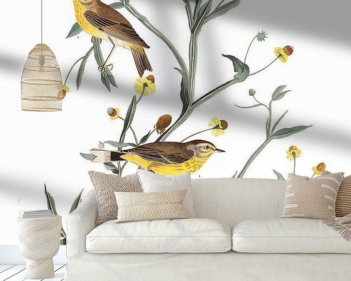 Sfeerimpressie behang: Palmzanger