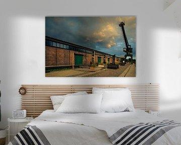 Turfhaven in Doesburg van Henk Kuipers