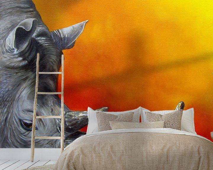 Sfeerimpressie behang: PRECIOUS van Nanda Hoep
